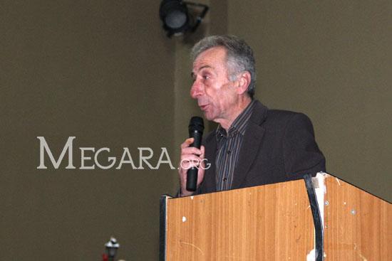 Ο Διευθυντής του ΓΕΛ Νέας Περάμου Ηρακλής Παπαγιάνναρος