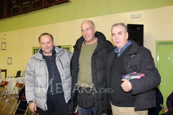 Μάνος Μανουσέλης, Αργύρης Καμπούρης, Κώστας Μιχελιδάκης