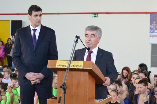 Χαιρετισμός από τον Δήμαρχο Γρηγόρη Σταμούλη