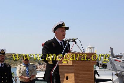 Χαιρετισμός από τον Αρχηγό ΓΕΝ Αντιναύαρχο Αποστολάκη
