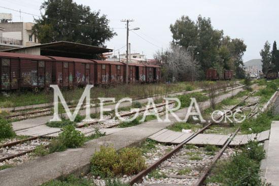 Σιδηροδρομικός σταθμός Μεγάρων